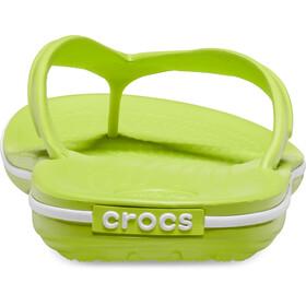 Crocs Crocband Sandalias, lime punch/white